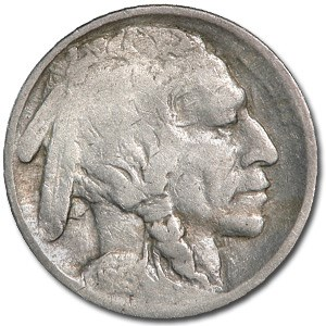 1913 Type-I Buffalo Nickel Good