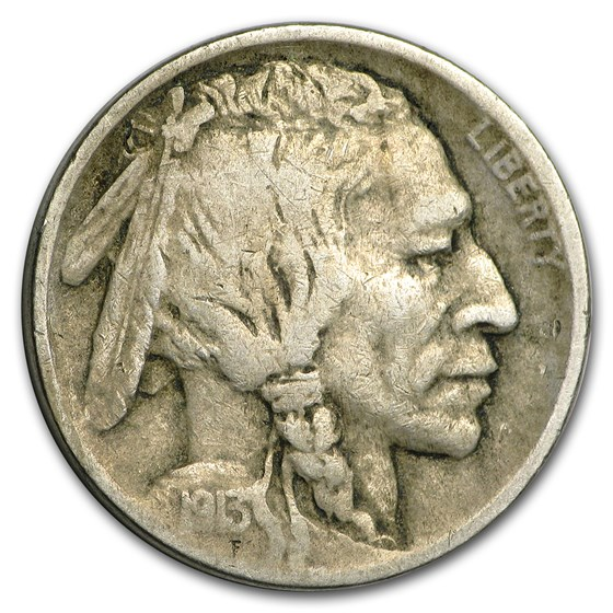1913 Type-I Buffalo Nickel VF