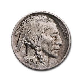 1913 Type-II Buffalo Nickel AU