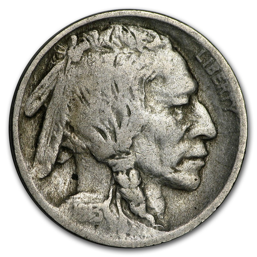 1913 Type-II Buffalo Nickel Good