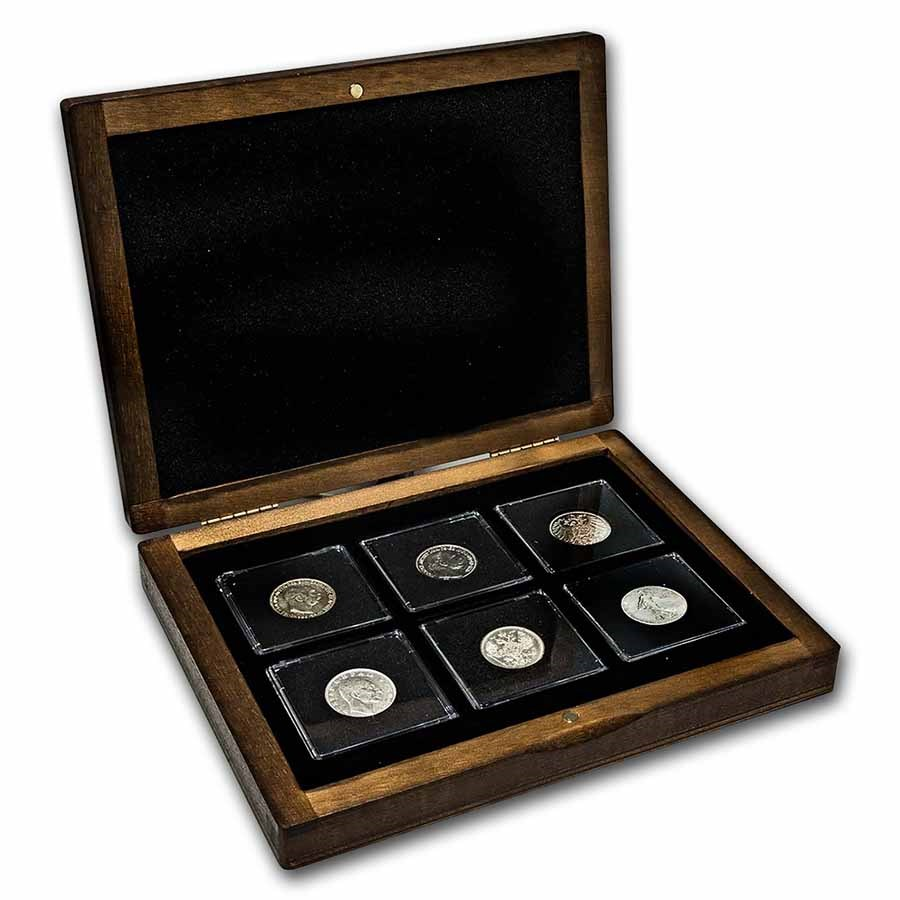 1914-1918 The Great War Silver 6-Coin Presentation Set