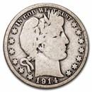 1914 Barber Half Dollar Good