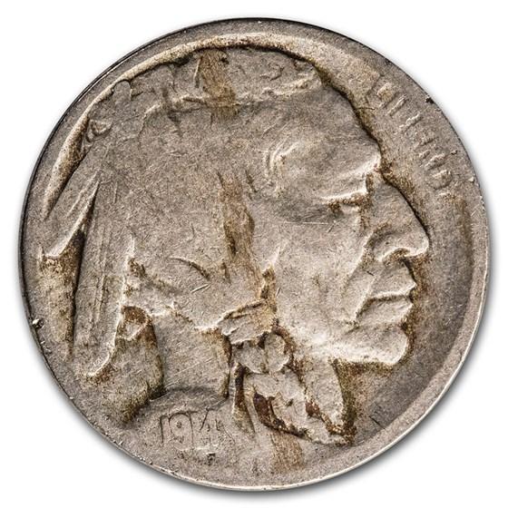 1914 Buffalo Nickel Good