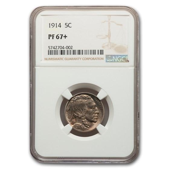1914 Buffalo Nickel PF-67+ NGC