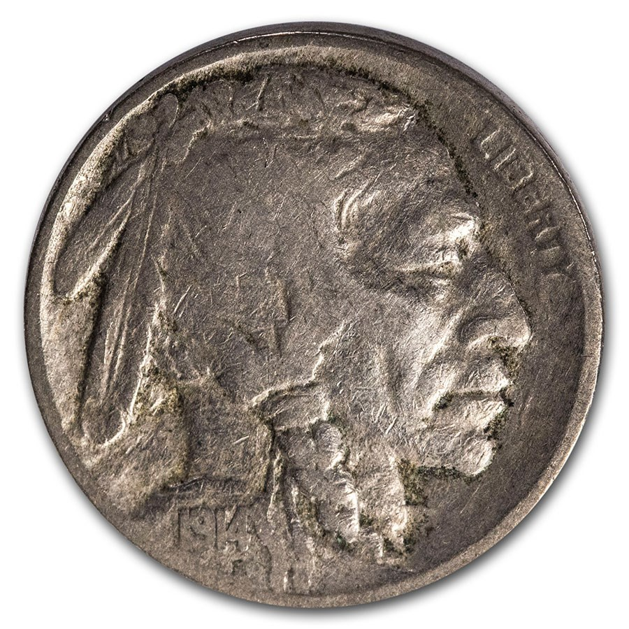 1914 Buffalo Nickel VG