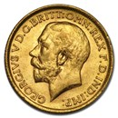 1914 Great Britain Gold Sovereign George V BU