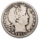 1914-S Barber Half Dollar Good