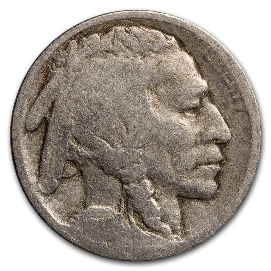 1914-S Buffalo Nickel AG