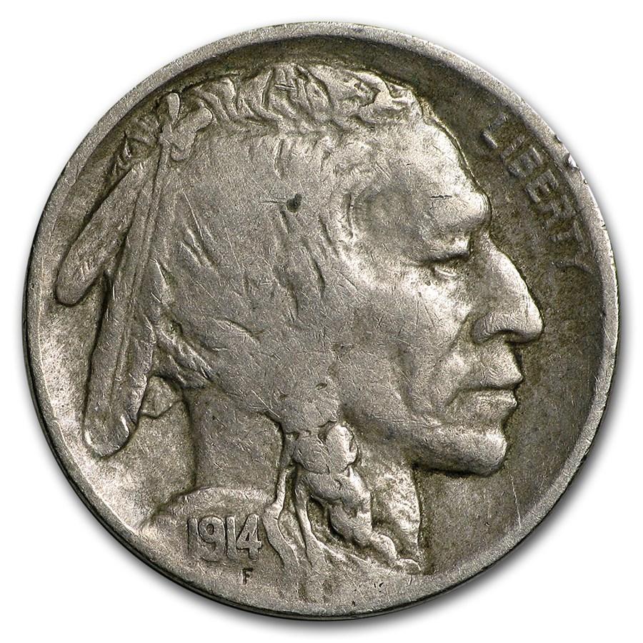 1914-S Buffalo Nickel Fine