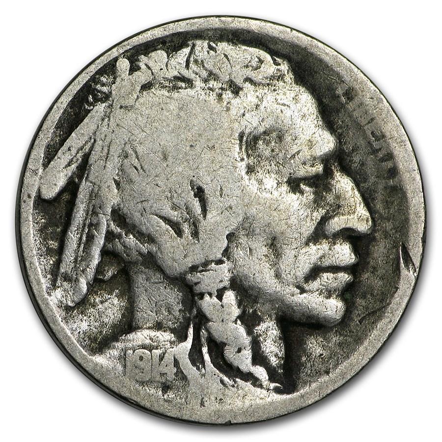 1914-S Buffalo Nickel Good