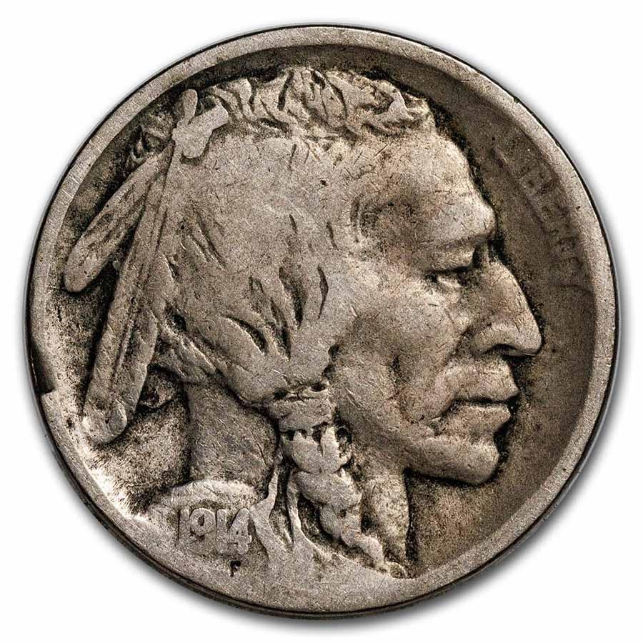 1914-S Buffalo Nickel VG