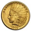1915 $10 Indian Gold Eagle AU