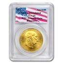 1915 Austria Gold 100 Corona PCGS Gem Unc (WTC Recovery)