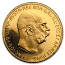1915 Austria Gold 100 Corona Proof (Restrike)