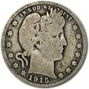 1915 Barber Quarter Good/VG