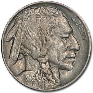 1915 Buffalo Nickel AU