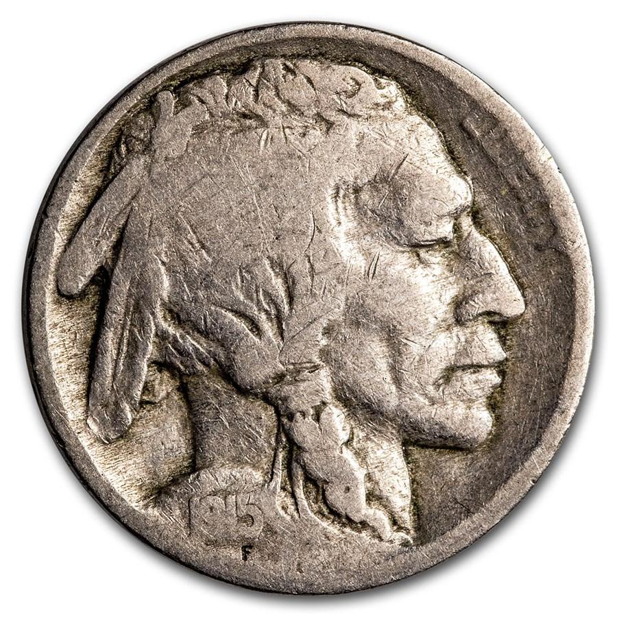 1915 Buffalo Nickel Good+