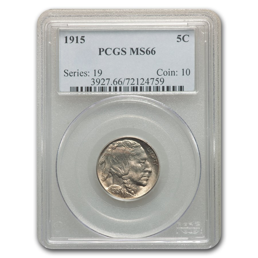 1915 Buffalo Nickel MS-66 PCGS