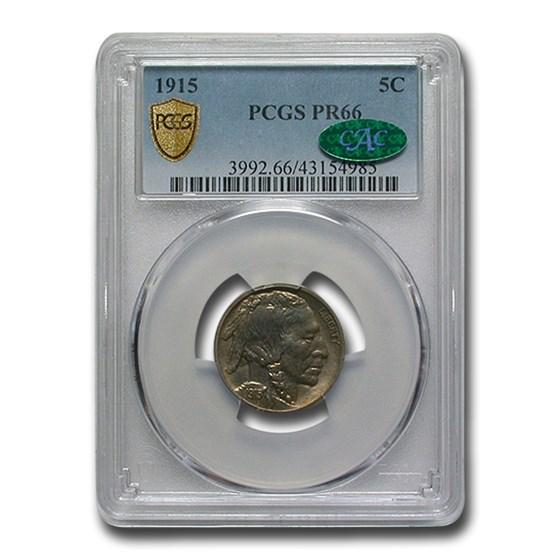 1915 Buffalo Nickel PR-66 PCGS CAC