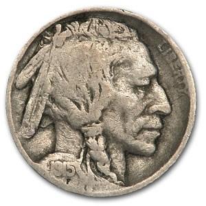 1915 Buffalo Nickel VG