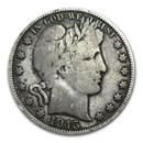 1915-D Barber Half Dollar VG