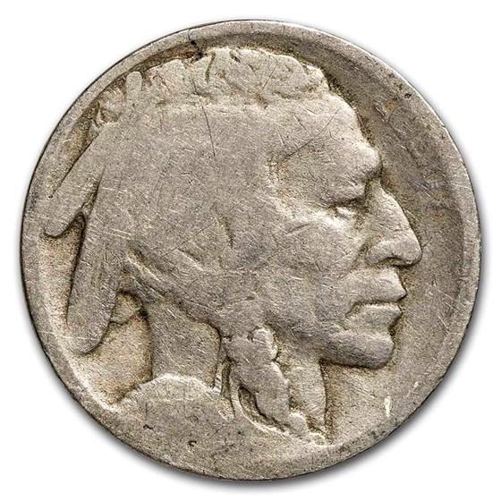 1915-D Buffalo Nickel AG
