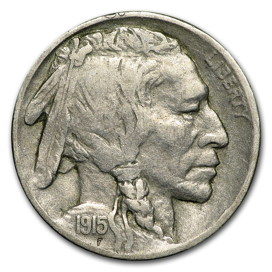 1915-D Buffalo Nickel Fine