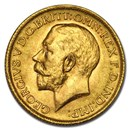 1915 Great Britain Gold Sovereign George V BU