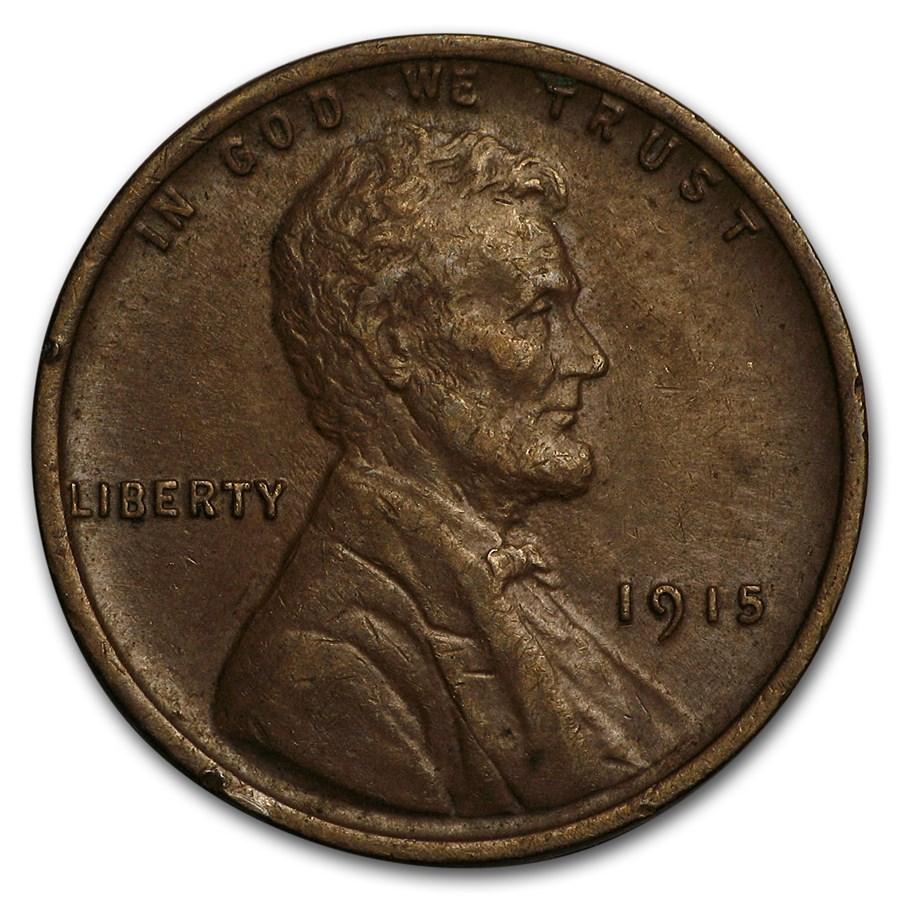 1915 Lincoln Cent AU