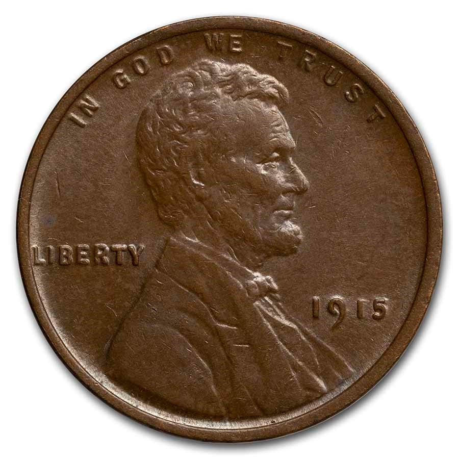 1915 Lincoln Cent BU (Brown)