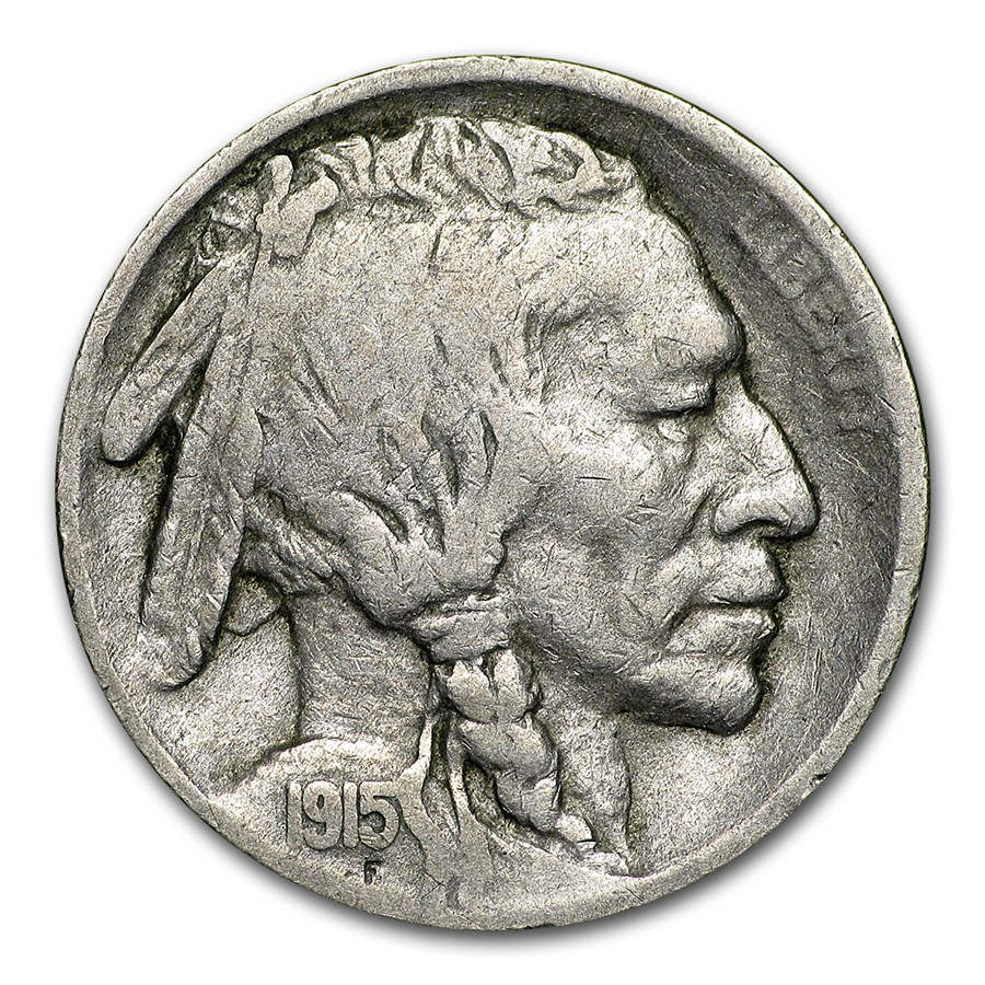 1915-S Buffalo Nickel Fine