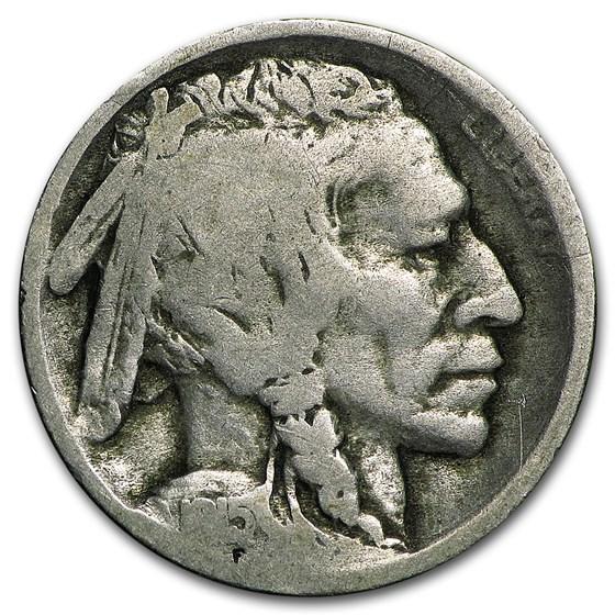 1915-S Buffalo Nickel Good
