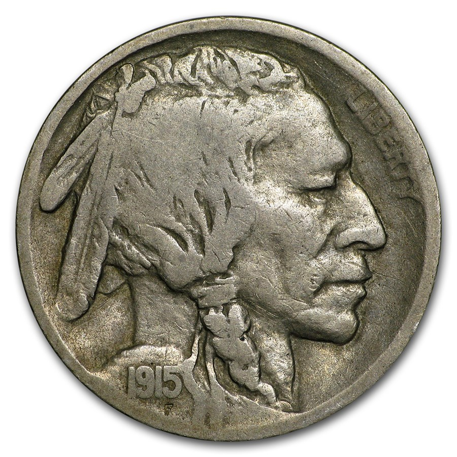 1915-S Buffalo Nickel VG
