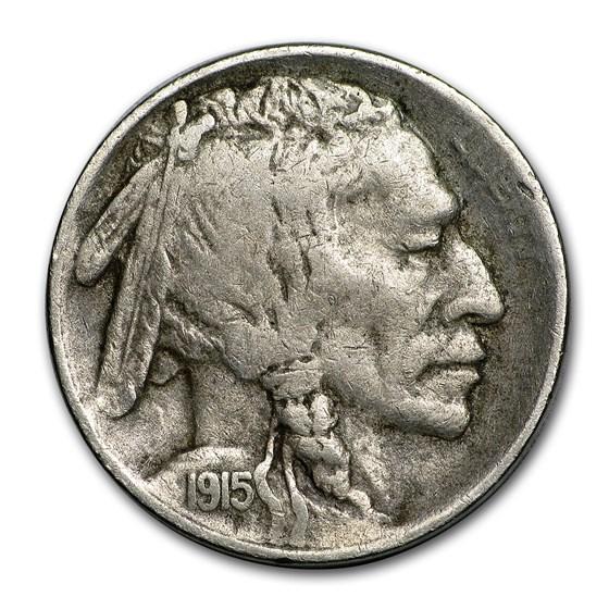 1915-S Buffalo Nickel XF