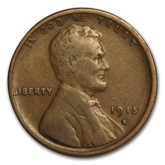 1915-S Lincoln Cent Fine