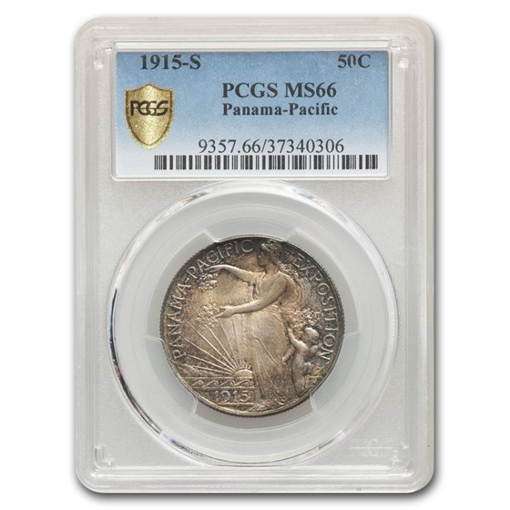 1915-S Panama-Pacific Half Dollar MS-66 PCGS