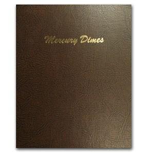 1916-1945 Near Complete Mercury Dime Set In Dansco Album
