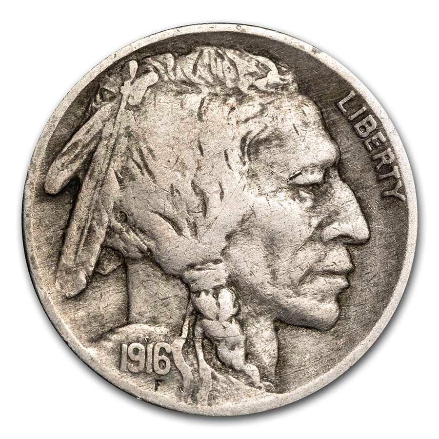 1916 Buffalo Nickel VF