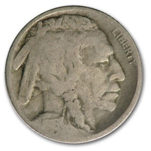 1916-D Buffalo Nickel Good
