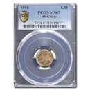 1916 Gold $1.00 McKinley CommemMS-67 PCGS