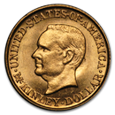 1916 Gold $1.00 McKinley Memorial BU