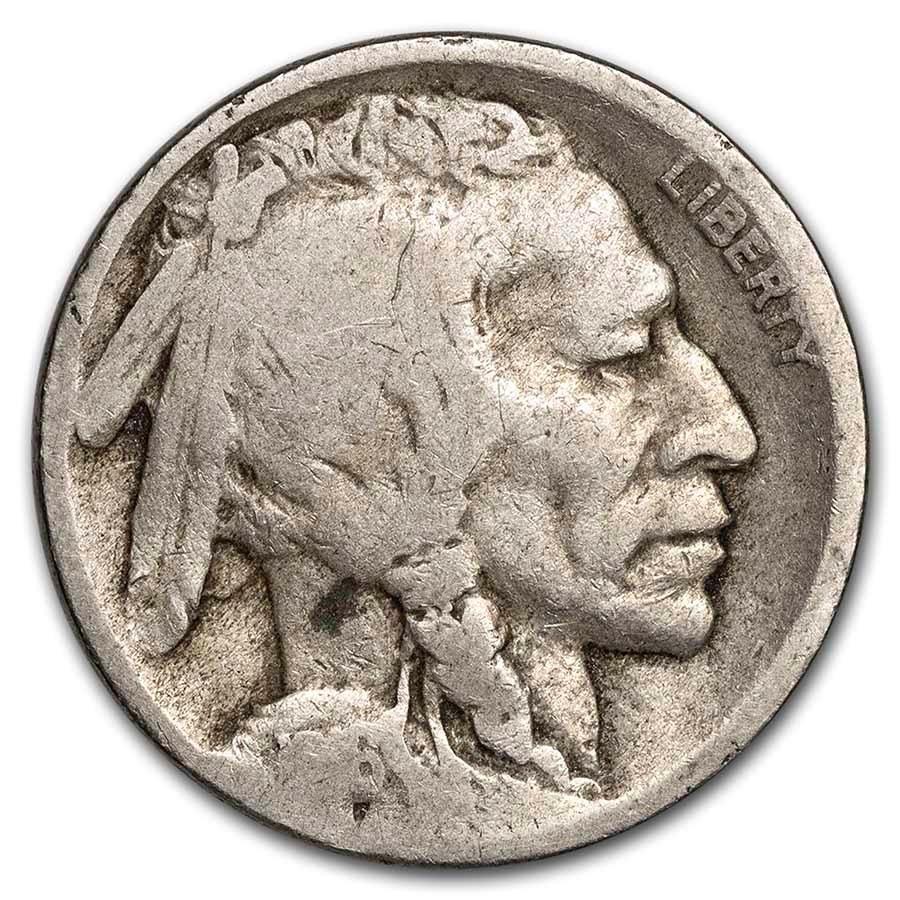1916-S Buffalo Nickel AG