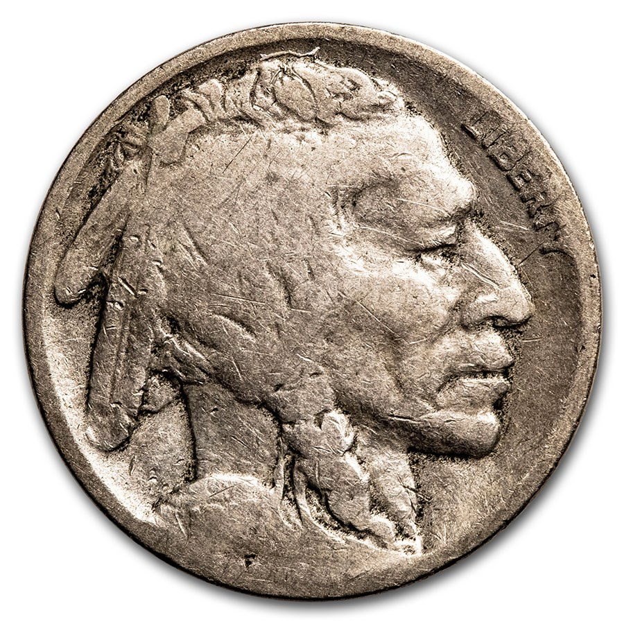 1916-S Buffalo Nickel Good