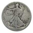 1916-S Walking Liberty Half Dollar AG