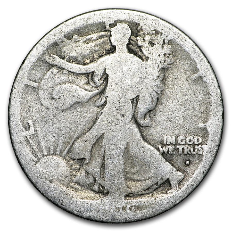 1916-S Walking Liberty Half Dollar Fair