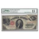 1917 $1.00 Legal Tender Fine-15 PMG (Gutter Fold Error)
