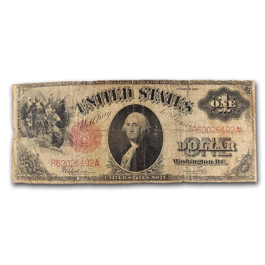 1917 $1.00 Legal Tender George Washington VG (Fr#39)