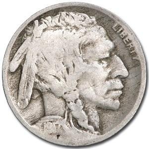 1917 Buffalo Nickel Good+