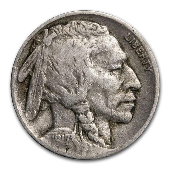 1917 Buffalo Nickel VF