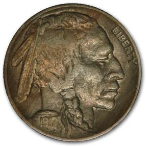 1917 Buffalo Nickel XF